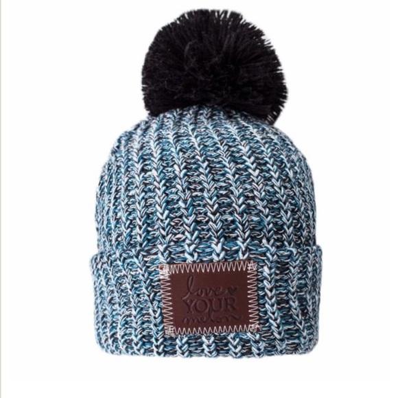 c2554a3c806 Love Your Melon Accessories - Love Your Melon Philadelphia Pom Beanie Blue  Hat